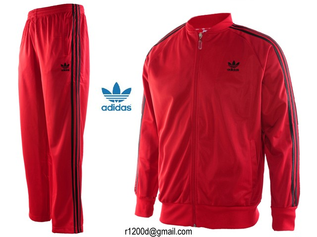 first look best place promo codes Survetement Homme jogging Discount Rouge Adidas q35j4cARL